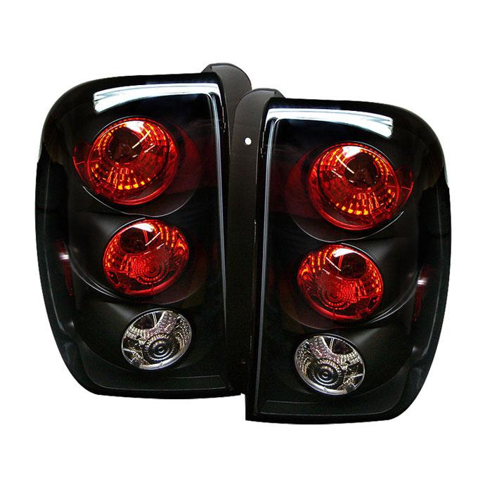 Spyder 5002181   Chevrolet TrailBlazer Altezza Tail Lights - Black -  (ALT-YD-CTB02-BK)