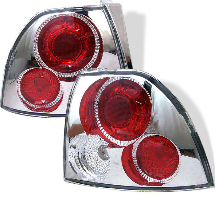 Spyder ALT-YD-HA94-C - Spyder Honda Accord 94-95 Altezza Tail Lights - Chrome