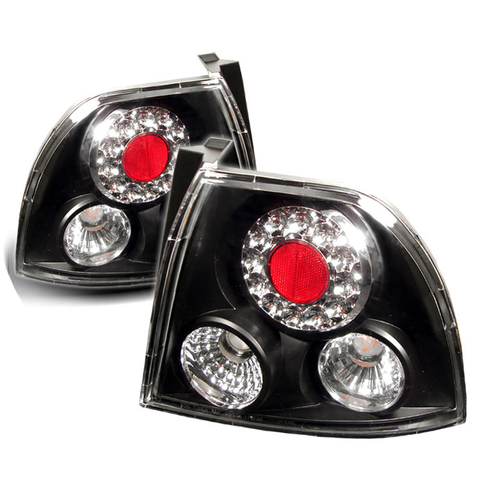 Spyder ALT-YD-HA94-LED-BK - Spyder Honda Accord 94-95 LED Tail Lights - Black