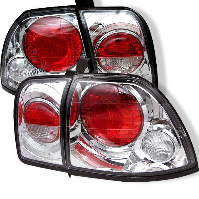 Spyder ALT-YD-HA96-C - Spyder Honda Accord 96-97 Altezza Tail Lights - Chrome