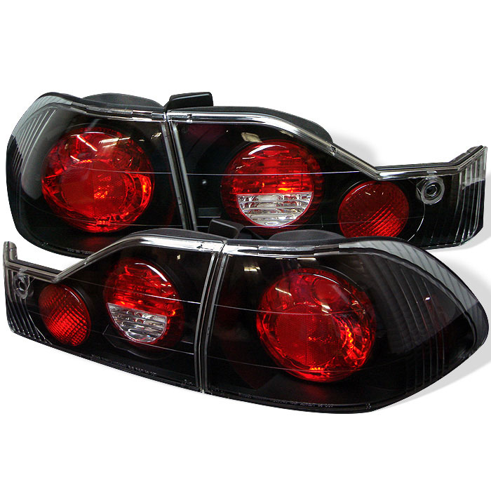 Spyder ALT-YD-HA98-BK - Spyder Honda Accord 98-00 4Dr Altezza Tail Lights - Black