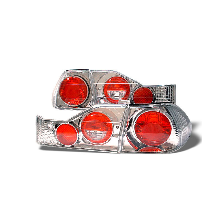 Spyder ALT-YD-HA98-C - Spyder Honda Accord 98-00 4Dr Altezza Tail Lights - Chrome