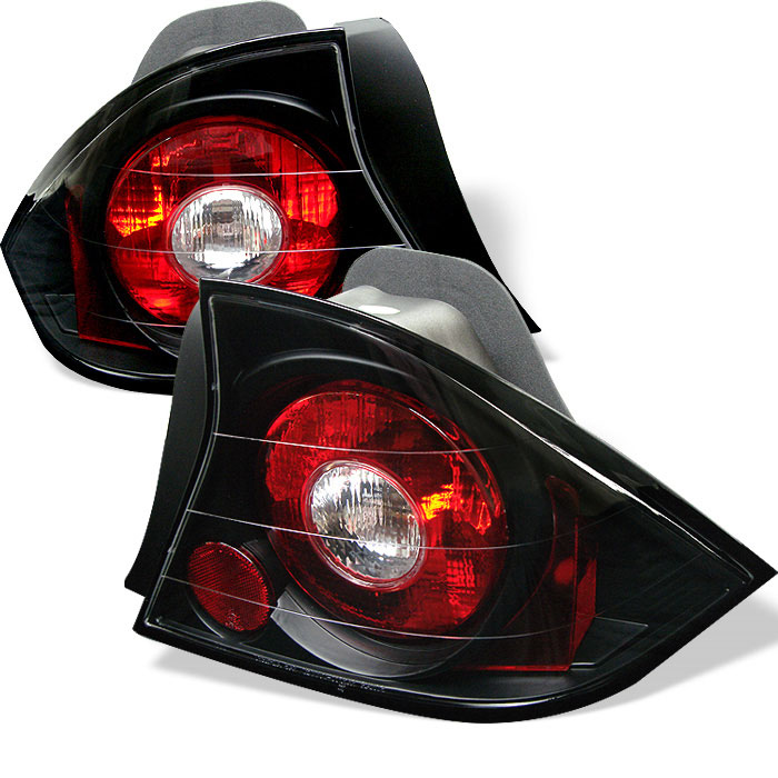 Spyder ALT-YD-HC01-2D-BK - Spyder Honda Civic 01-03 2Dr Altezza Tail Lights - Black