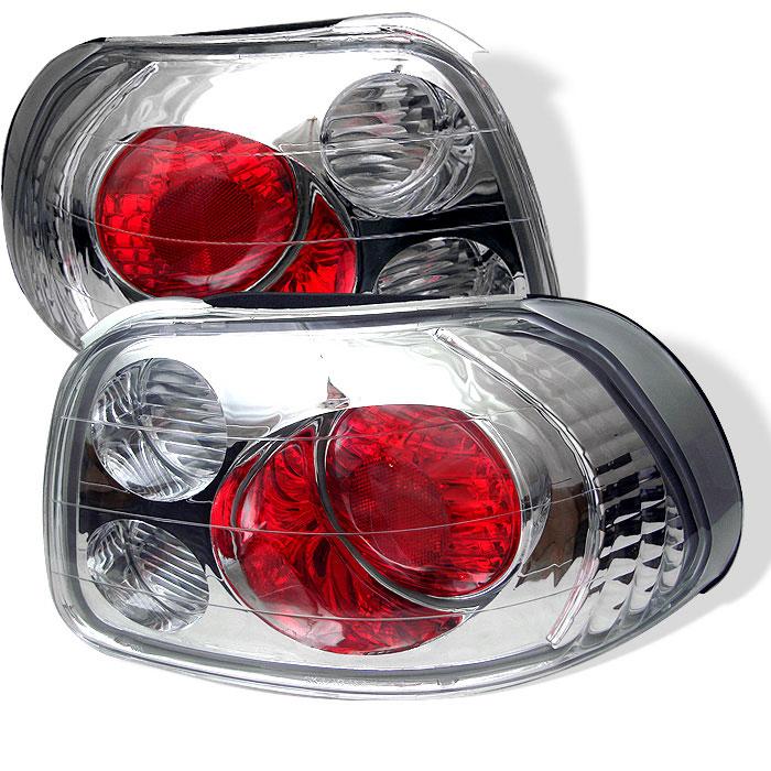 Spyder ALT-YD-HDS93-C - Spyder Honda Del Sol 93-97 Altezza Tail Lights - Chrome
