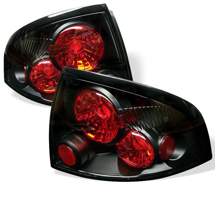 Spyder ALT-YD-NS00-BK - Spyder Nissan Sentra 00-03 Altezza Tail Lights - Black