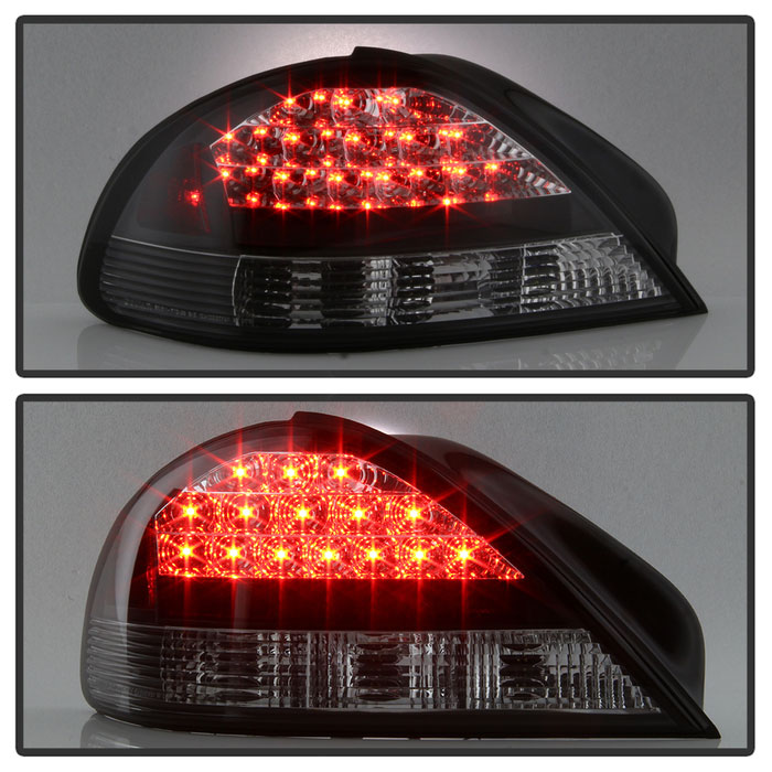 Spyder 5007117 Pontiac Grand Am Led Tail Lights Black Alt Yd