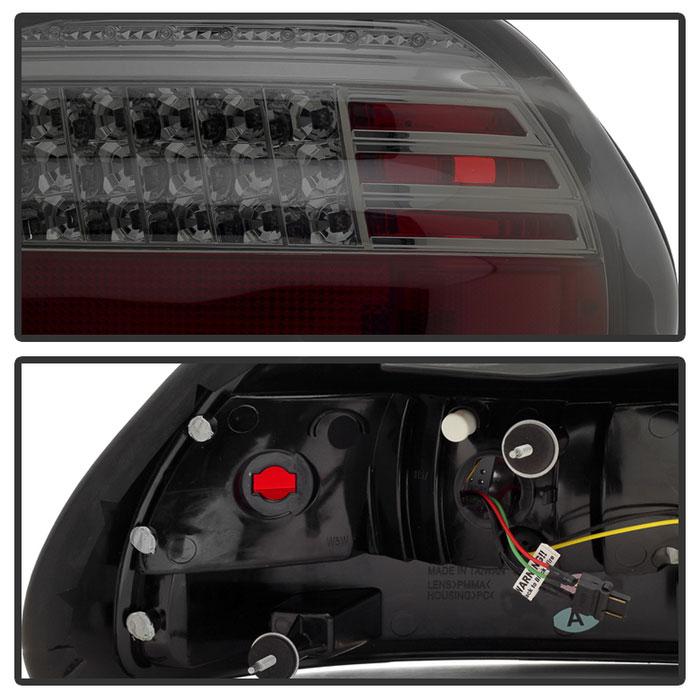 Spyder 5007179 Pontiac Grand Prix Led Tail Lights Smoke Alt Yd
