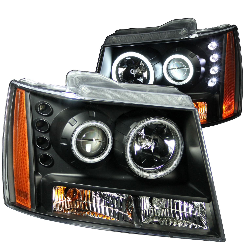 Malibu Lighting Parts >> Anzo 111109 | ANZO USA Chevrolet Suburban Projector ...