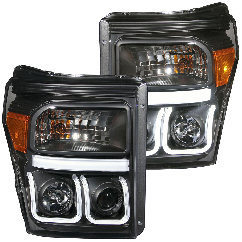 Anzo  Anzo Usa Ford F  F  Super Duty Projector Headlights