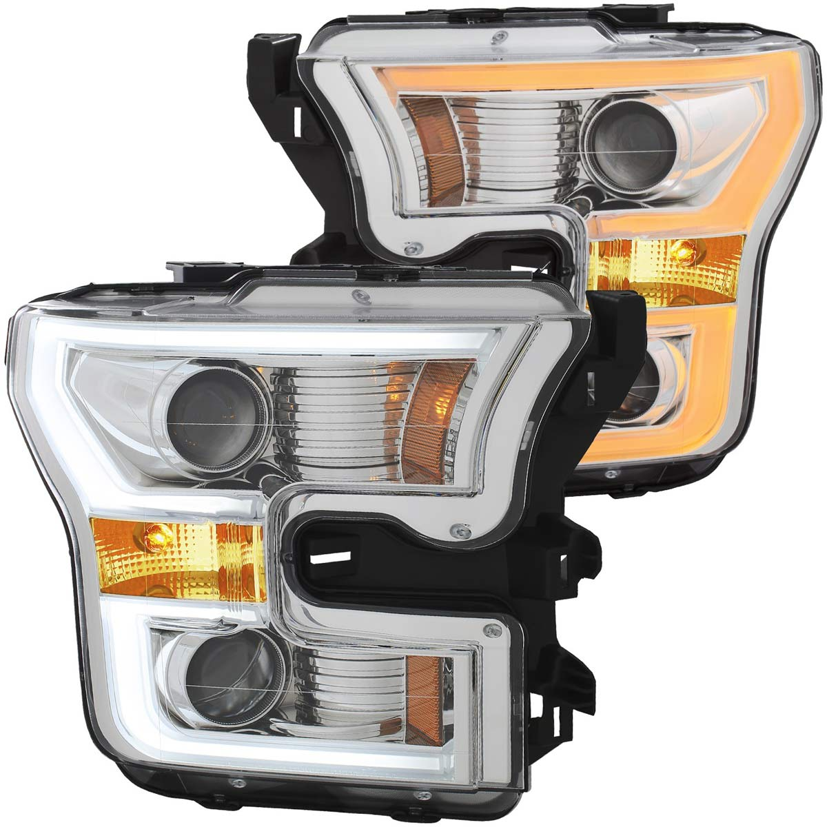 Anzo 111358  Anzo Usa Ford F-150 Projector Headlights W -5478