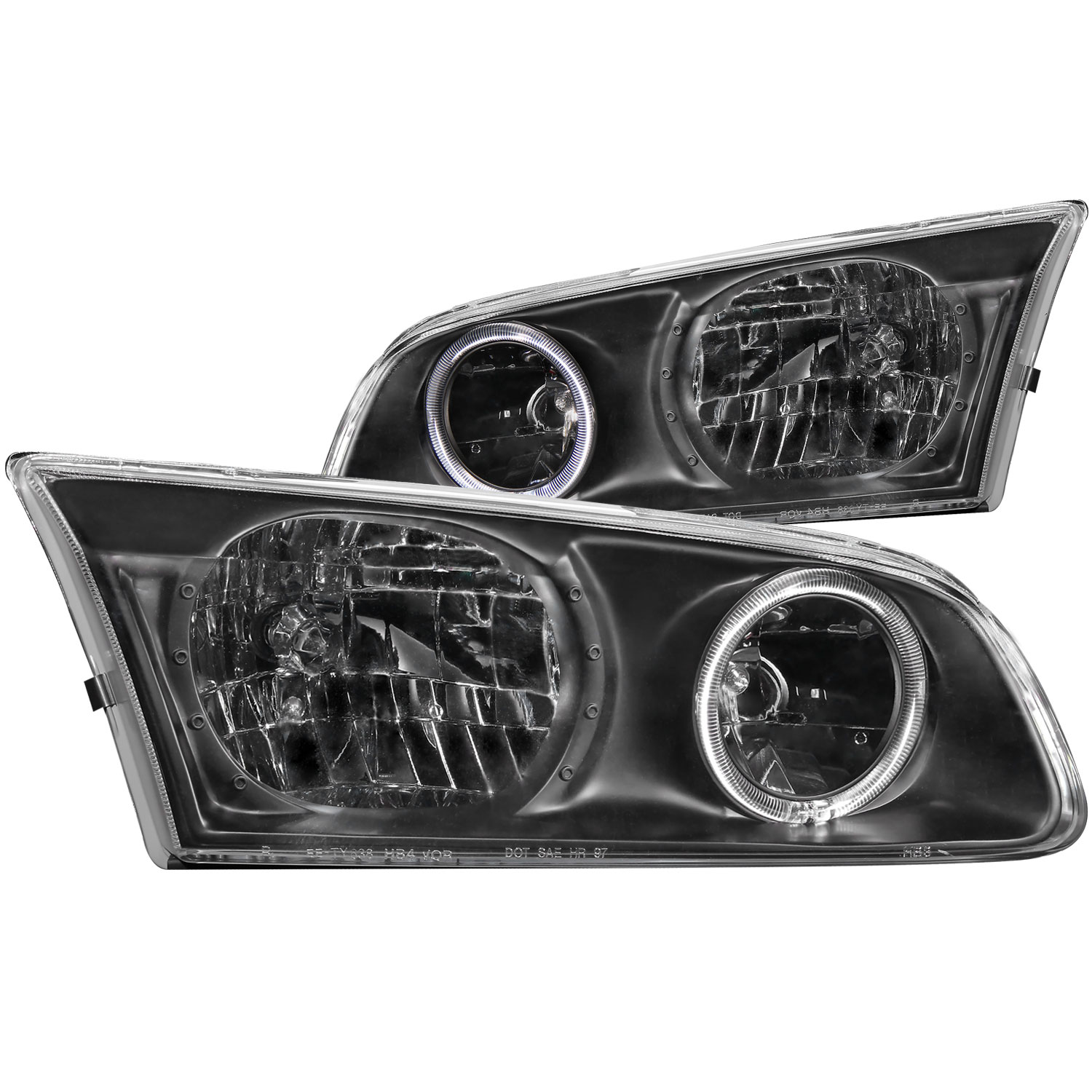 anzo 121123 anzo usa toyota camry crystal headlights w. Black Bedroom Furniture Sets. Home Design Ideas