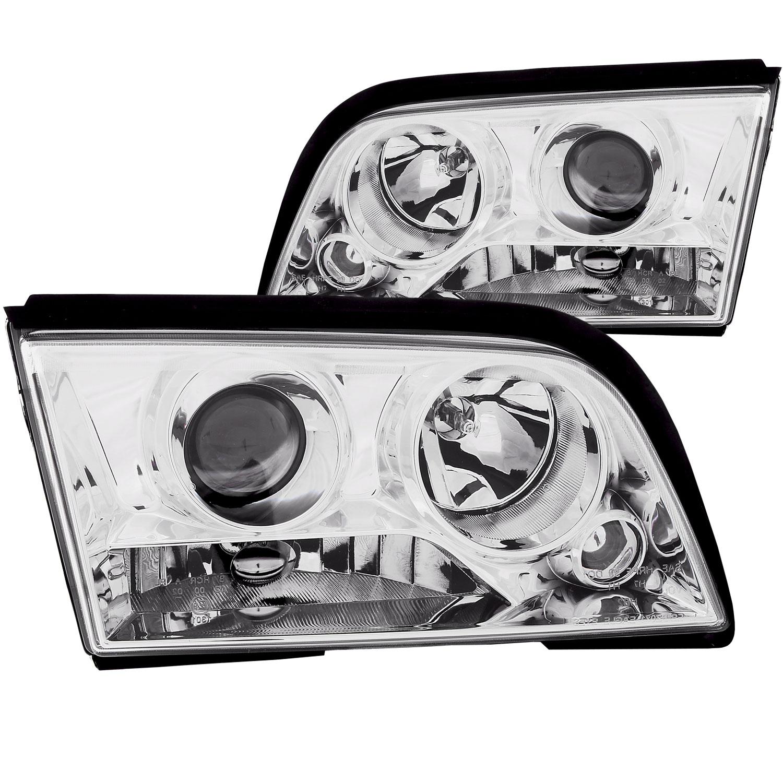 Anzo 121158   ANZO USA Mercedes Benz C Class W202 4dr Projector Headlights  Chrome