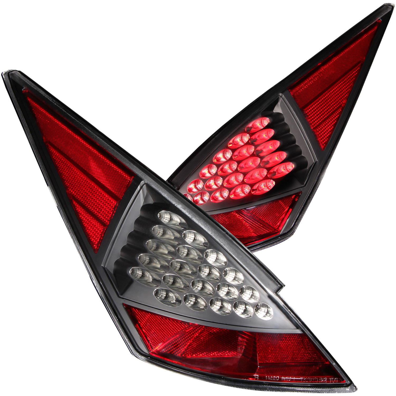 ANZO USA Nissan 350z Led Taillights Black