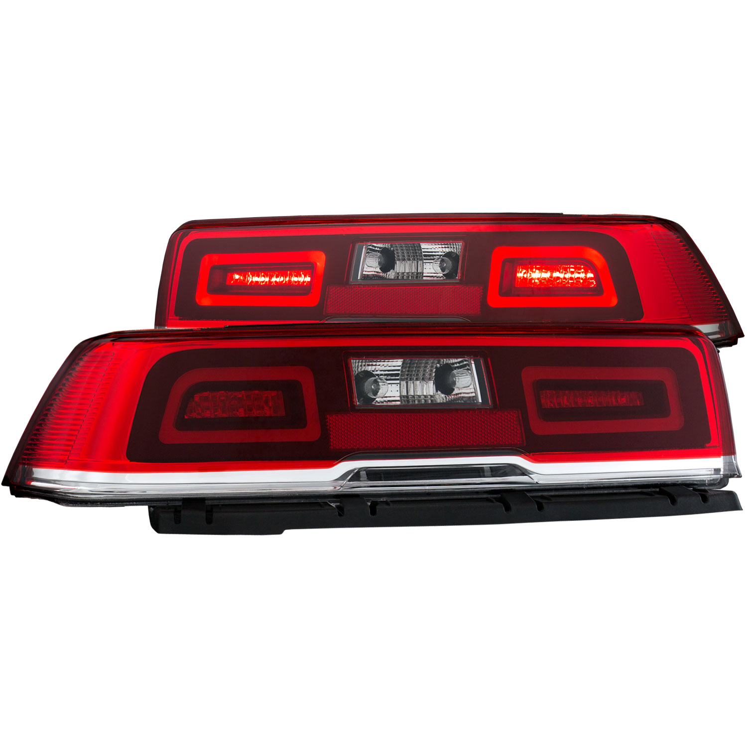 anzo 321322 anzo usa chevrolet camaro led taillights red tail light wiring schematic
