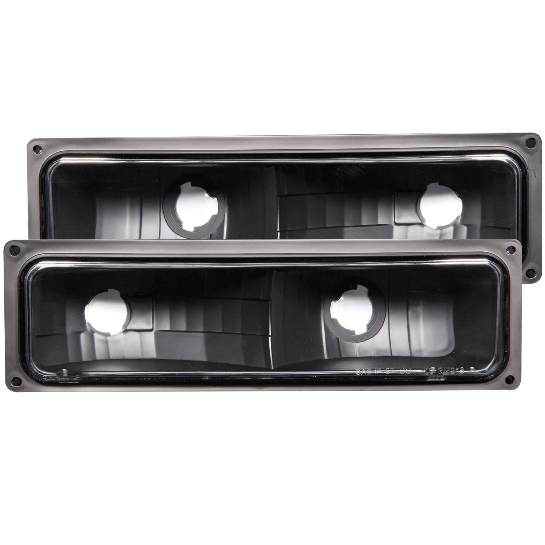 ANZO USA GMC K3500 Euro Parking Lights Black