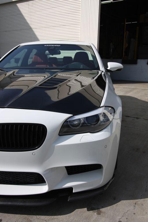 Agency Power AP-F10M5-620 | Carbon Fiber Hood DTM Style BMW F10 M5