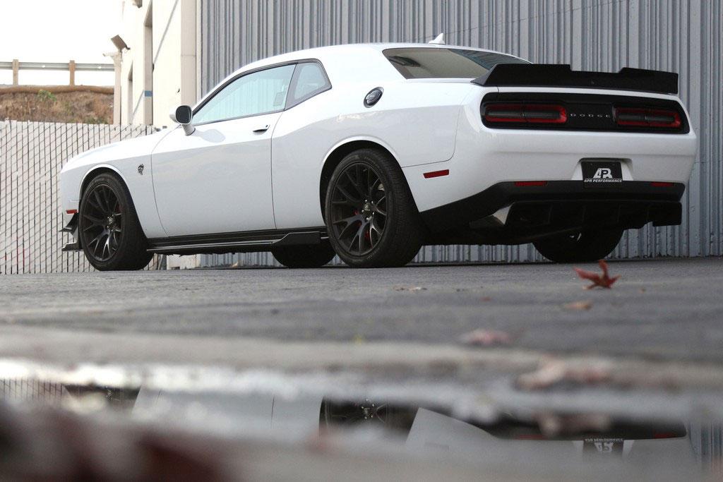 Rear Deck Spoiler Carbon Fiber Dodge Challenger 2015 2020