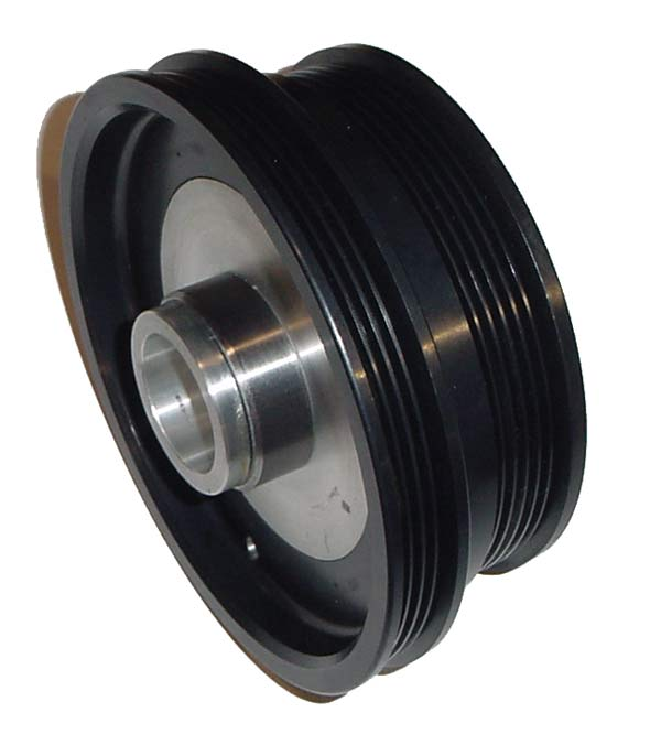 ASP 941020 - ASP Underdrive Pulley (SFI Approved) 25% Harmonic Dampner Crank