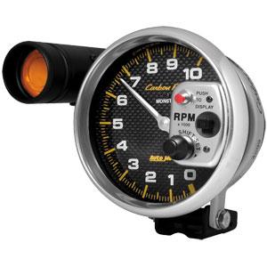 Auto Meter AUTO4899 - Auto Meter Carbon Fiber 10,000 RPM TACH