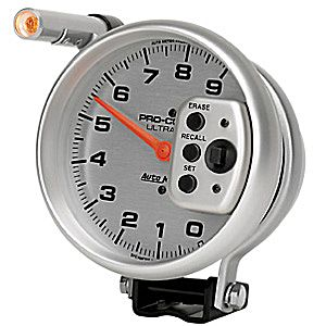 Auto Meter AUTO6856 - Auto Meter Ulta-Lite 9,000 RPM TACH Single Range w/ Shift-Lite and Memory
