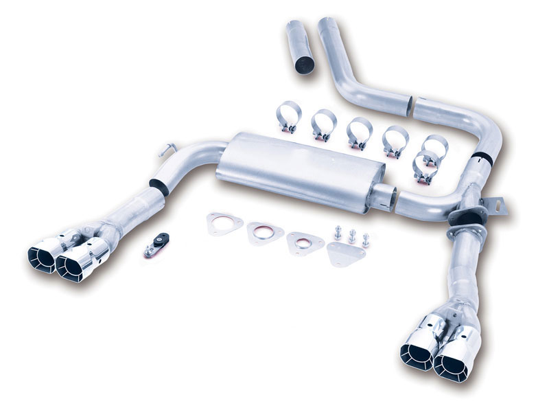Adjustable Cat-Back Exhaust Camaro | Borla 14780 Exhaust