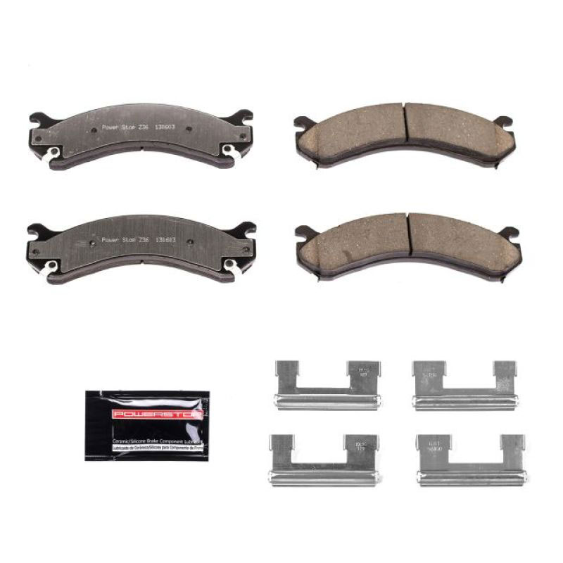 Details about  /For Chevy Silverado 3500 HD 07-10 Brake Pads Power Stop Z36 Extreme Truck /& Tow