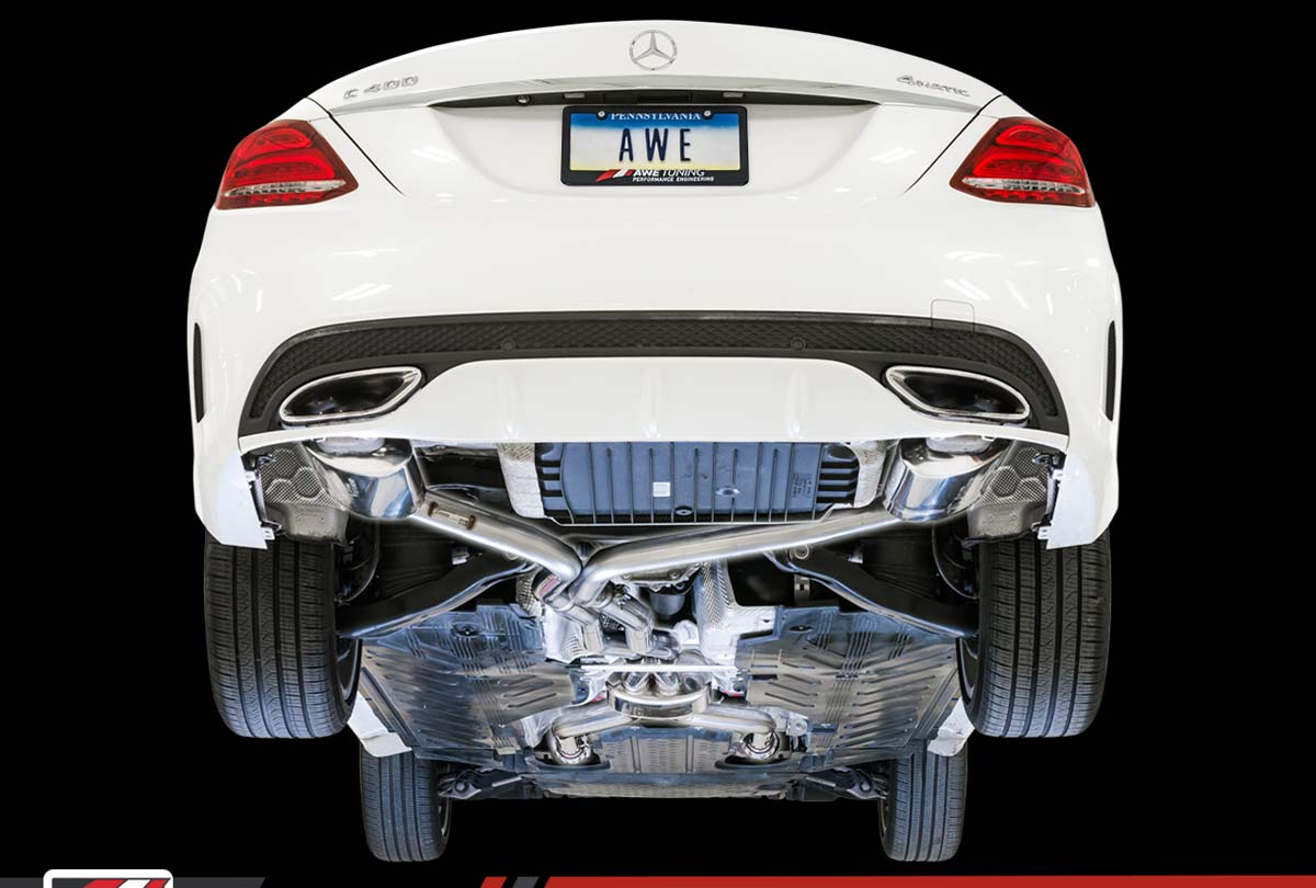Awe Tuning 3015 31012 Mercedes Benz Amg C43 Coupe 3 0l Turbo W205