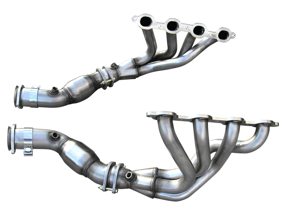 American Racing Headers C7-14134300MLWC | ARH Corvette C7 Mid Length 1-3/4  inch 304-SS Headers with Cats
