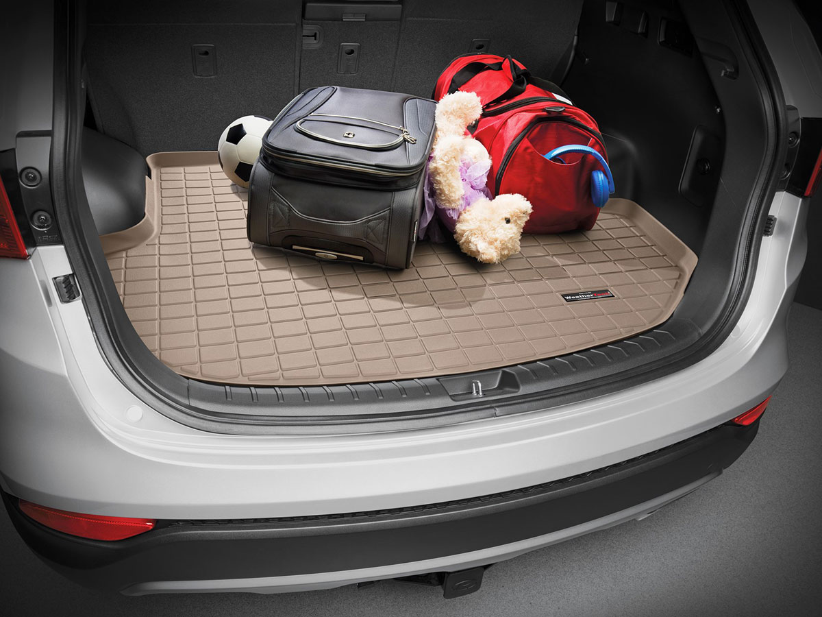 WeatherTech Cargo Liner Trunk Mat for Volvo XC90 2003-2014 Large Tan