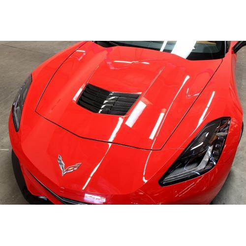 APR Performance CF-700005   Corvette C7 Hood Vent Carbon Fiber