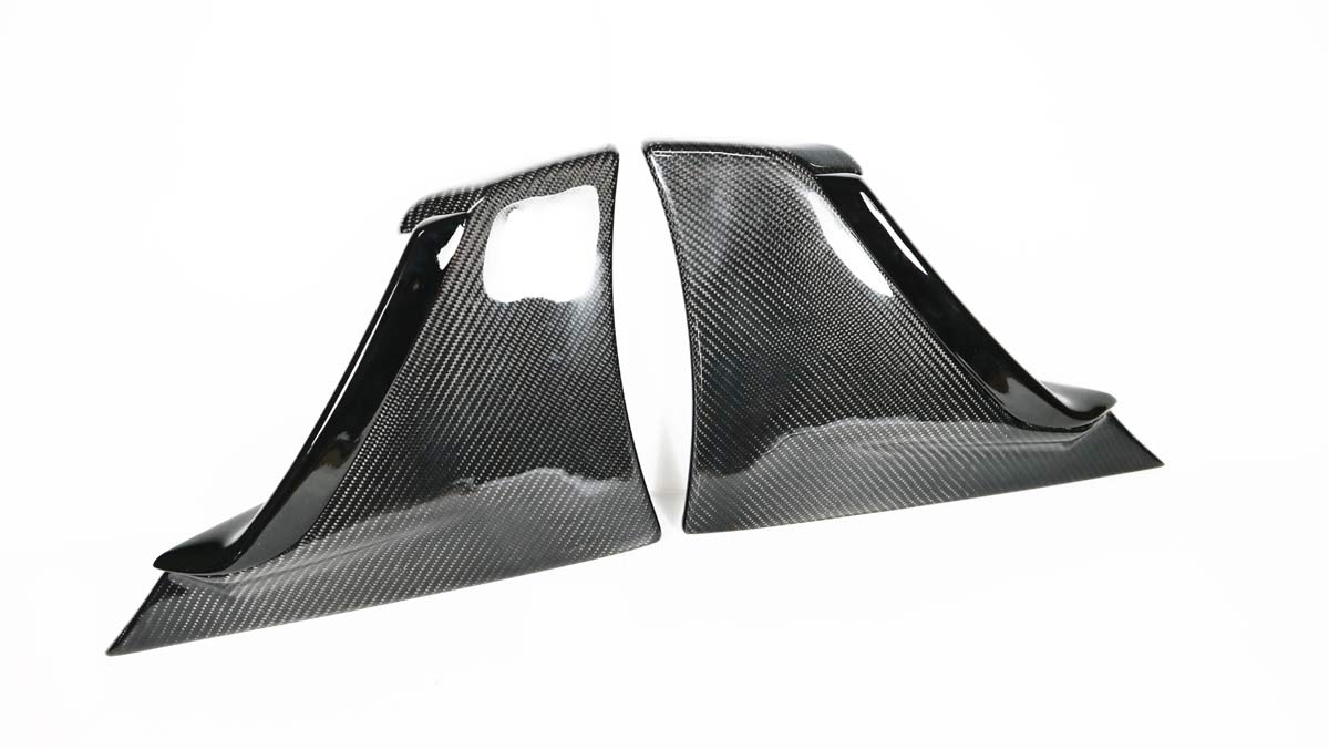 JPM Carbon CHV-C7-20 | 2014+ Corvette C7 Z06 Carbon Fiber Brake Scoops
