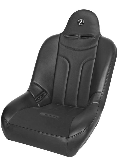 Corbeau 26401 - Corbeau Baja JP Suspension Seat in Black Vinyl