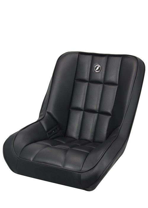 Corbeau 62201 - Corbeau Baja SS Suspension Seat in Baja Low Back Black Vinyl