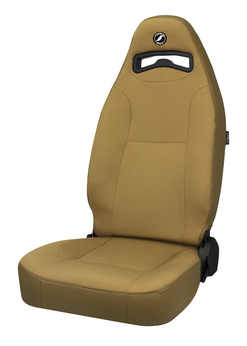 Corbeau 70077 - Corbeau Moab Reclining Seat in Spice Vinyl / Cloth