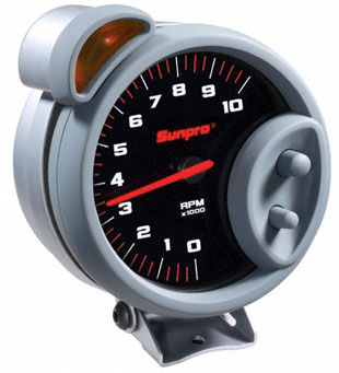 Sunpro CP7900 - Sunpro Sport ST 5 inch 10,000 RPM TACH