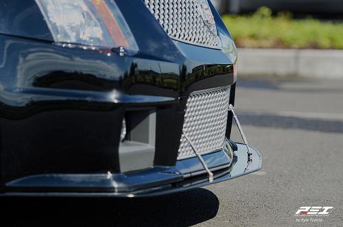 APR Performance CW-658031 | Cadillac CTS-V Coupe / Sedan Front Wind  Splitter Carbon Fiber