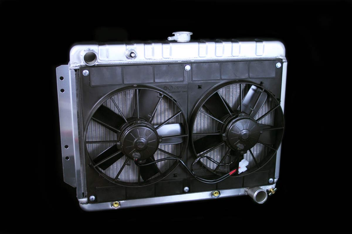 DeWitts 4139016A | Radiator and Fan Impala All, DF, Auto, Dual 11
