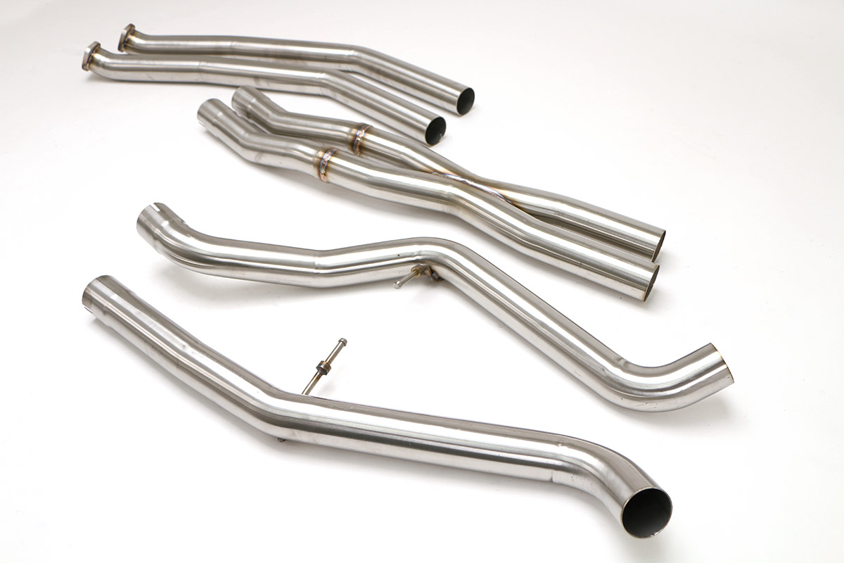 B&B Billy Boat Exhaust FBMW-1027 | Billy Boat B&B BMW E90-E92-E93 335I TT  CENTER SECTION W/X-PIPE (COUPE)