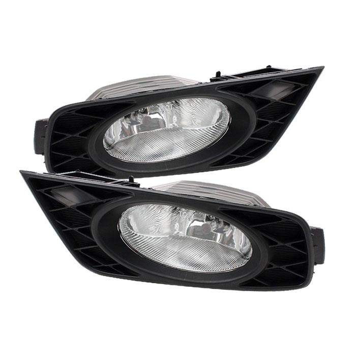 Spyder FL-CL-HODY08-C - Spyder Honda Odyssey 08-09 OEM Fog Lights - Clear