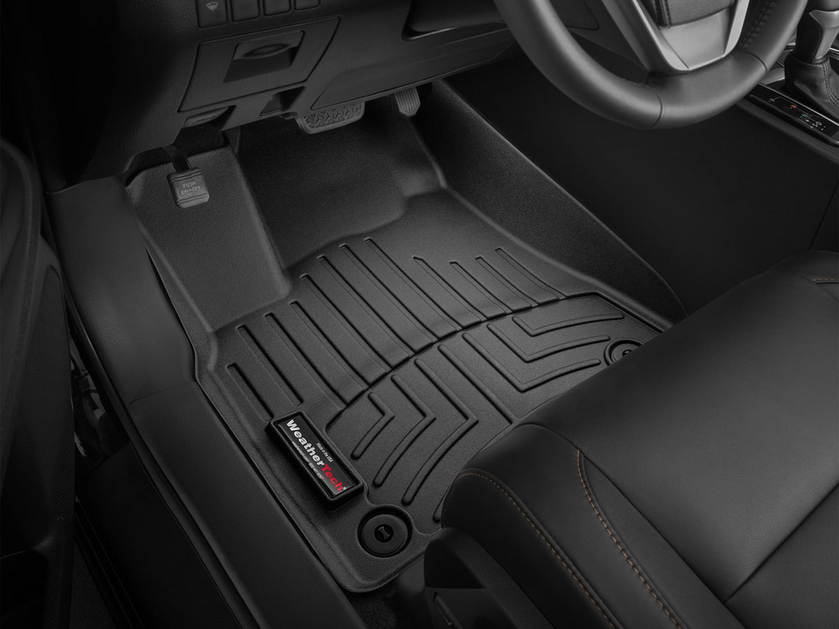 Weathertech mats for jeep grand cherokee - Weathertech 443241 Front Floorliner Jeep Grand Cherokee 2011 2016 Black Fits Vehicle W O Rhs Foot Rest
