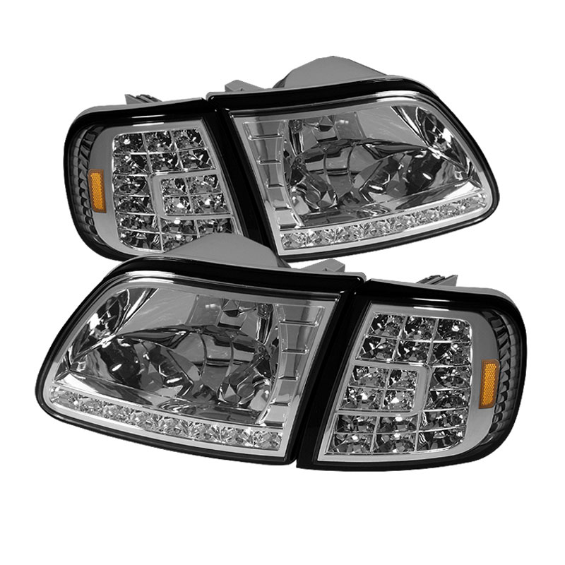 Xtune hd on ff15097 led set c ford f150 97 03 will not fit anything before manu date june