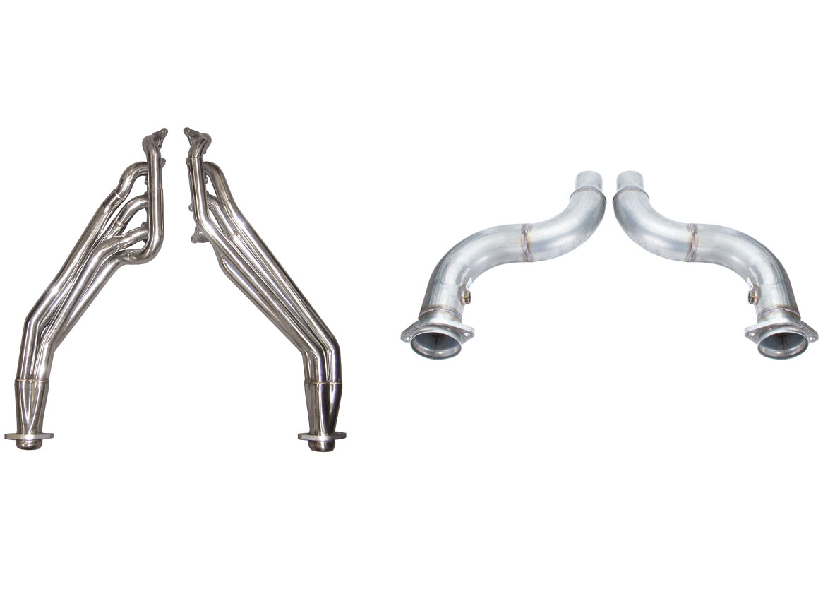 Pypes Exhaust Hdr79sk 2 Pypes Mustang Gt Long Tube Headers With Off Road Connection Pipes 1 3 4 Primary Tubes Step To 1 7 8 And 3 Inch Collectors