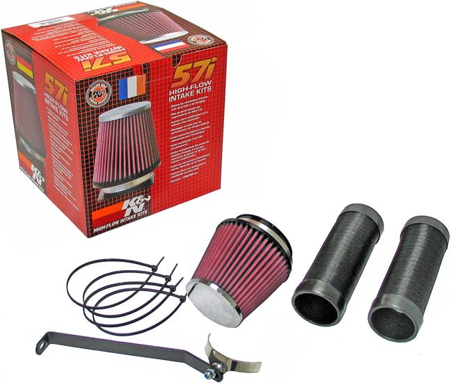 K&N Filter 57-0680 | K&N Fuel Injection Performance Kit (fipk) For Bmw 118d  / 120d 2 0d 143 / 177bhp