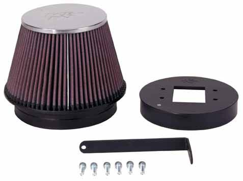 K&N Filter 57-9005 - K&N Fuel Injection Performance Kit (fipk) For Toyota supra Non-turbo; 86-92
