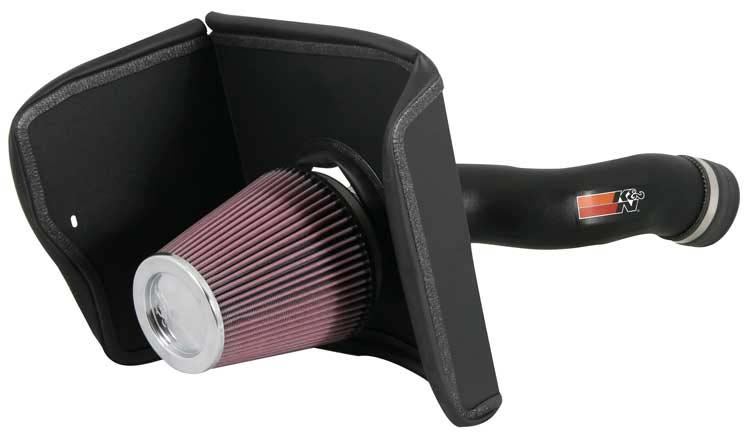 K&N Filter 63-9031 - K&N Aircharger Kit For Toyota Tundra V8-5.7l; 07-08