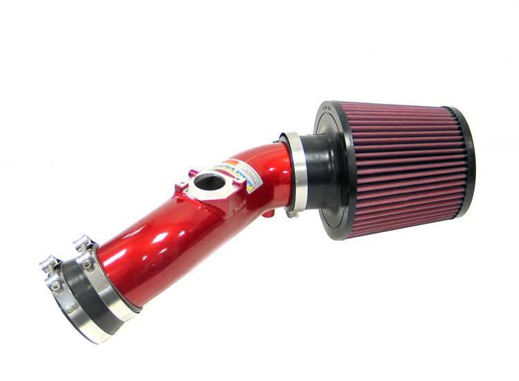 K&N Filter 698601TR - K&N Typhoon Air Intake System For Toyota Matrix Xrs (sr) 03; Red