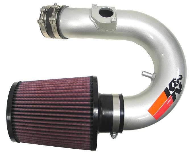 K&N Filter 698750TS - K&N Typhoon Air Intake System For (eu) toyota Celica L4-1.8l 143bhp Silver