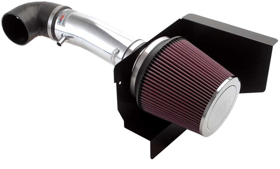 K&N Filter 69-2526TP - K&N Typhoon Intake System Cold Air: 2005-14 Charger 5.7L Polished