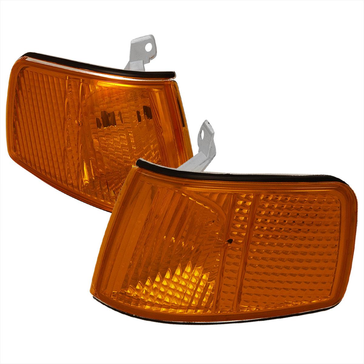 Spec-D Tuning LC-CRX90AM-RS - Spec-D 90-91 Honda Crx Corner Lights - Amber (lc-crx90am-rs)