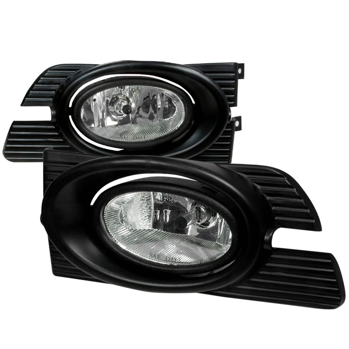 Spec-D Tuning LF-ACD014COEM-WJ - Spec-D 01-02 Honda Accord 4dr Oem Fog Lights